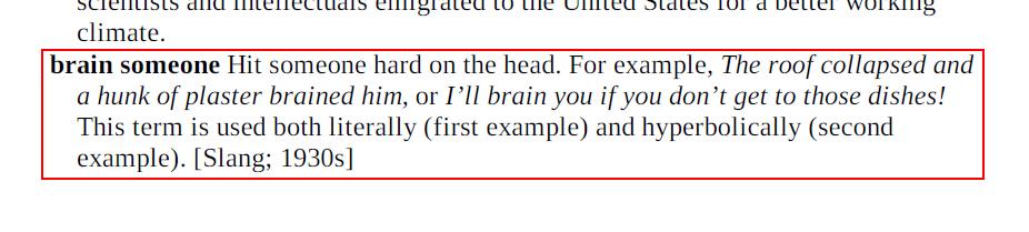 Arti Brain Someone