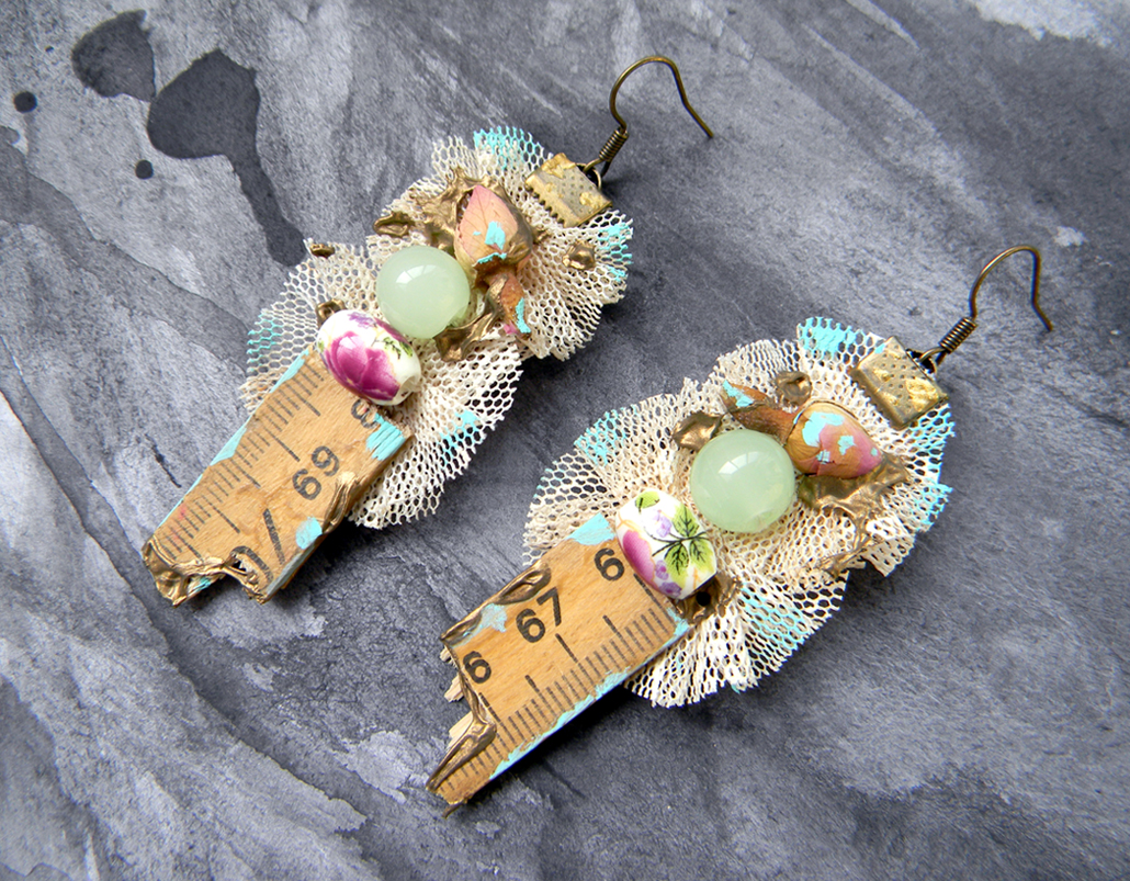 Unique Handmade Jewelry Original Fashion Earrings Handcrafted Jewelry