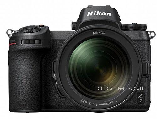 Nikon Z7 с объективом