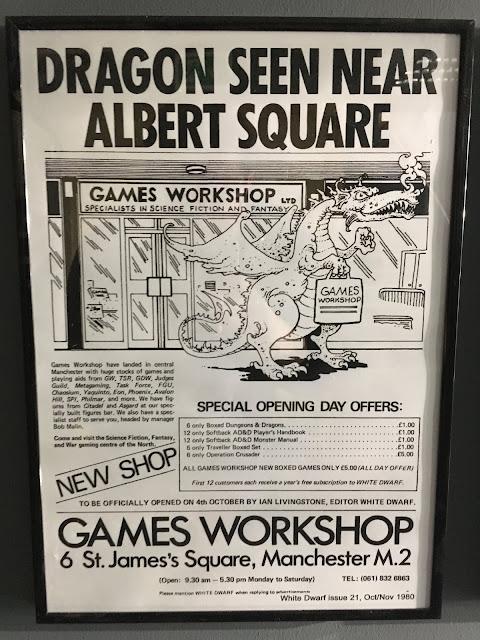 Primera tienda Games Workshop