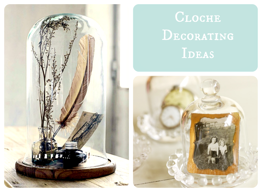 glass cloche decorating