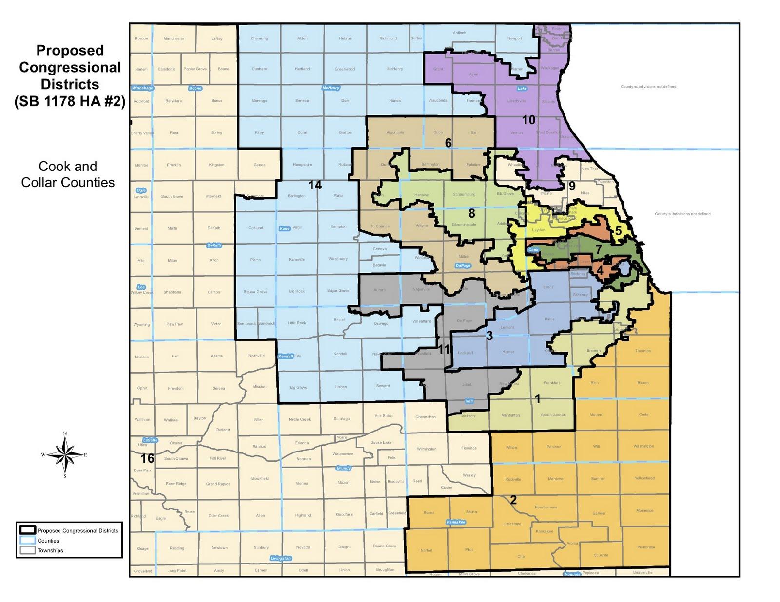 Ibew Illinois Map.Illinois Issues Blog Illinois New Legislative Maps Face Legal