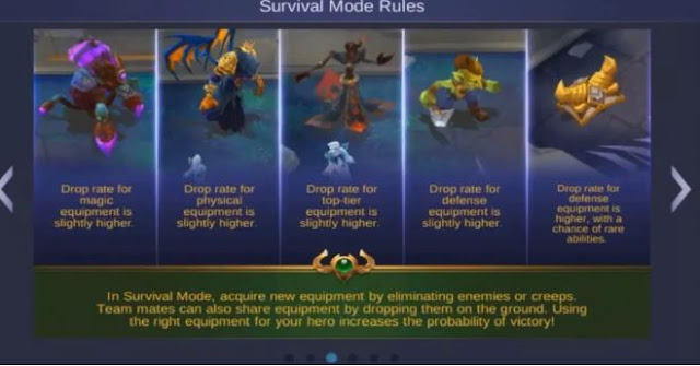 daftar monster di mode survial Mobile Legends