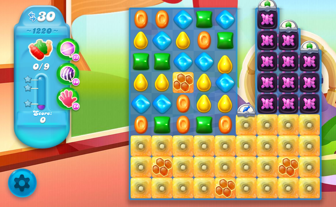 Candy Crush Soda Saga level 1220