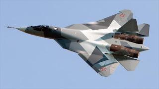 Cazas furtivos de quinta generación rusos llegan a Siria