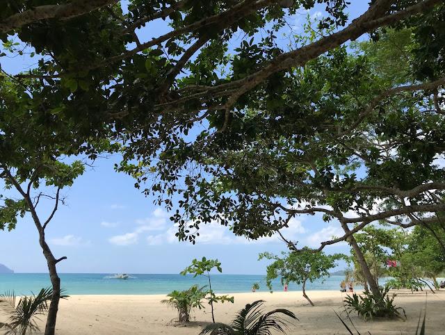 Playa en El Nido, Palawan