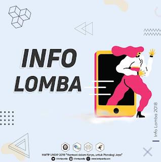 """Info Lomba: Ecopreneur 2018 """"Infographics Contest"""""""