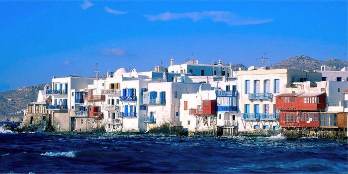 Isola di Mykonos, Cicladi, Grecia