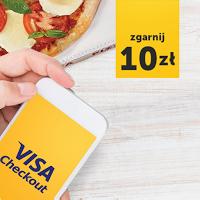 Rabat 10 zł na PizzaPortal.pl dla płacących z Visa Checkout