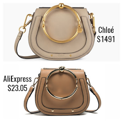Designer Dupes Look For Less Chloe Nile Bracelet Bag