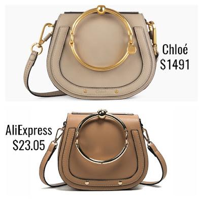 Designer Dupes Look For Less Chloe Nile Bracelet Bag