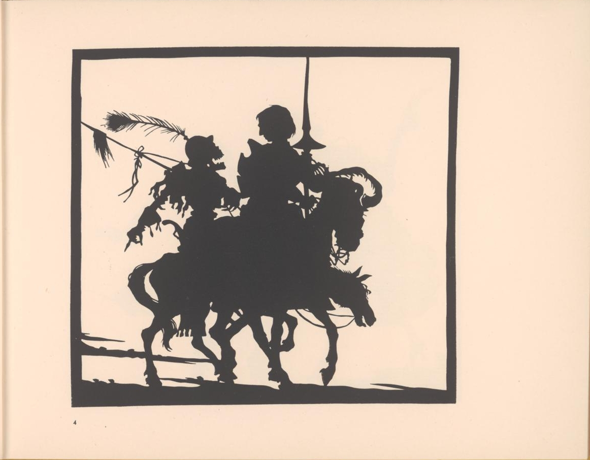 silhouette of danse macabre skeleton