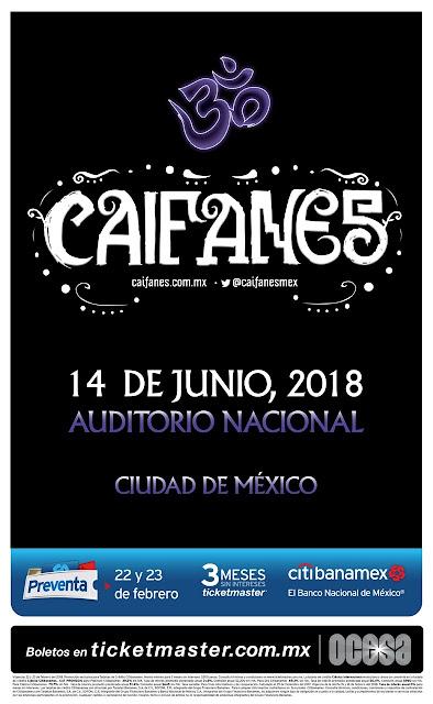CAIFANES AUDITORIO NACIONAL