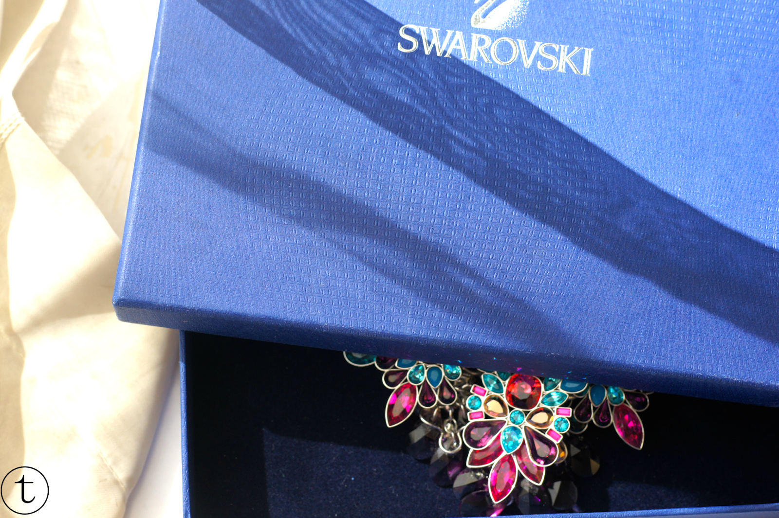 swarovski cardinal necklace summer collection