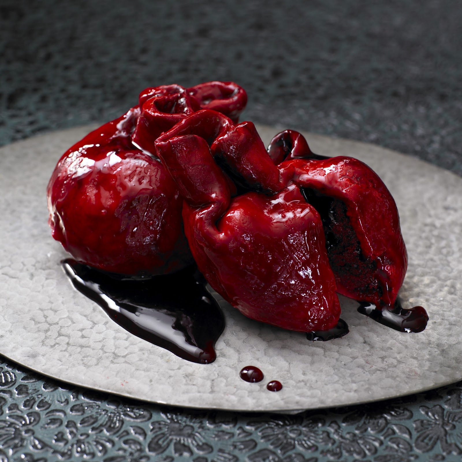 Not So Humble Pie: True Love: A Human Heart Cupcake