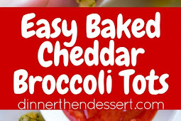 BAKED CHEDDAR BROCCOLI TOTS