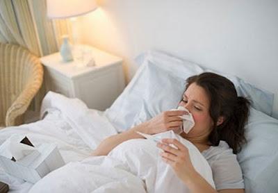 Mang thai với bệnh cảm mạo
