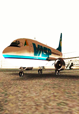 Free Download Boeing 737-200 VASP PP-SMA Mod for GTA San Andreas.