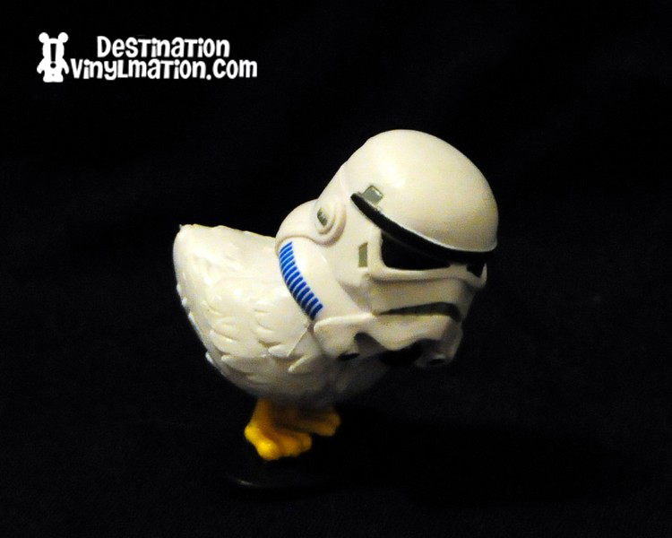 Storm Trooper Helmet Upside Down