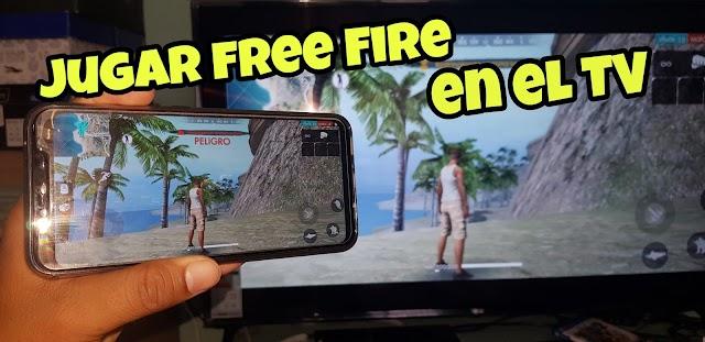 COMO JUGAR FREE FIRE EN EL TELEVISOR