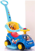 Disney Mickey and Disney Princess CRO1032 Ride-on Car