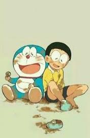 Doraemon dan Nobita bermain