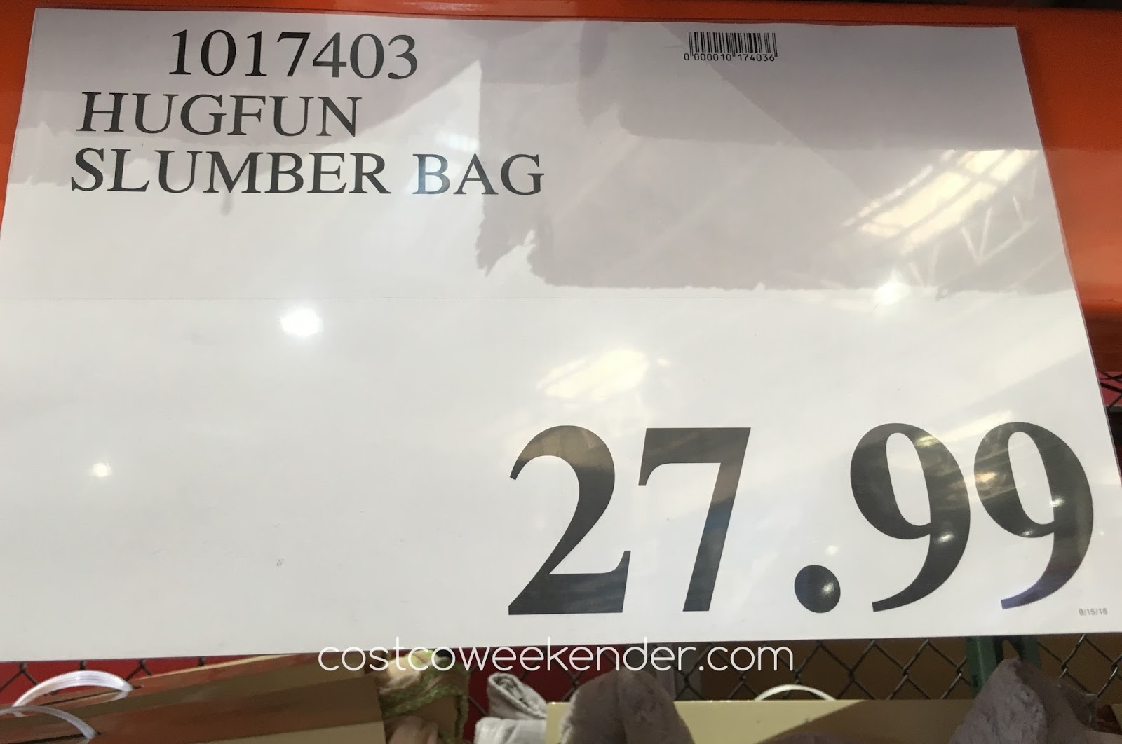 28990afc79e88 Deal for the Hug Fun Slumber Bag at Costco