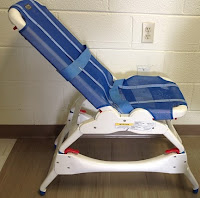 Rifton Bath Chair with Tub Stand picture