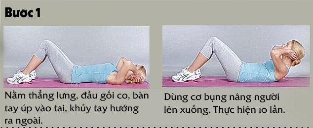 4 bài tập giảm cân đơn giản cho người bận rộn