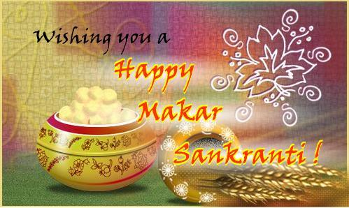 Happy Makar Sankranti HD Wallpaper