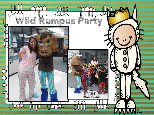 Where the Wild Things Are book study and Wild Rumpus Class party