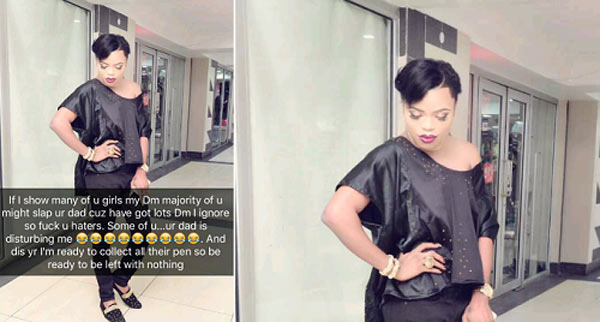 Your fathers are begging me for sex - Bobrisky berates Nigerian girls