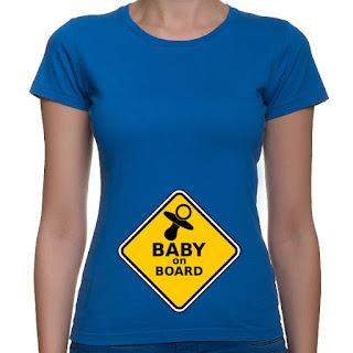 Koszulka baby on board