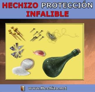 Hechizo Protección Infalible de Botella de la Bruja
