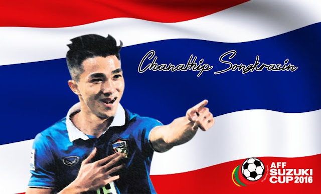 Chanathip Songkrasin, Messinya Thailand, Messi from Thailand, Messi Jay, AFF Suzuki Cup 2016