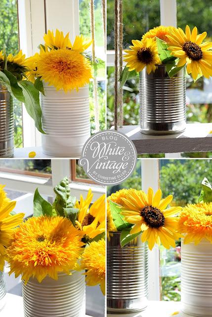 Bastelanleitung Blumenschaukel auf White and Vintage