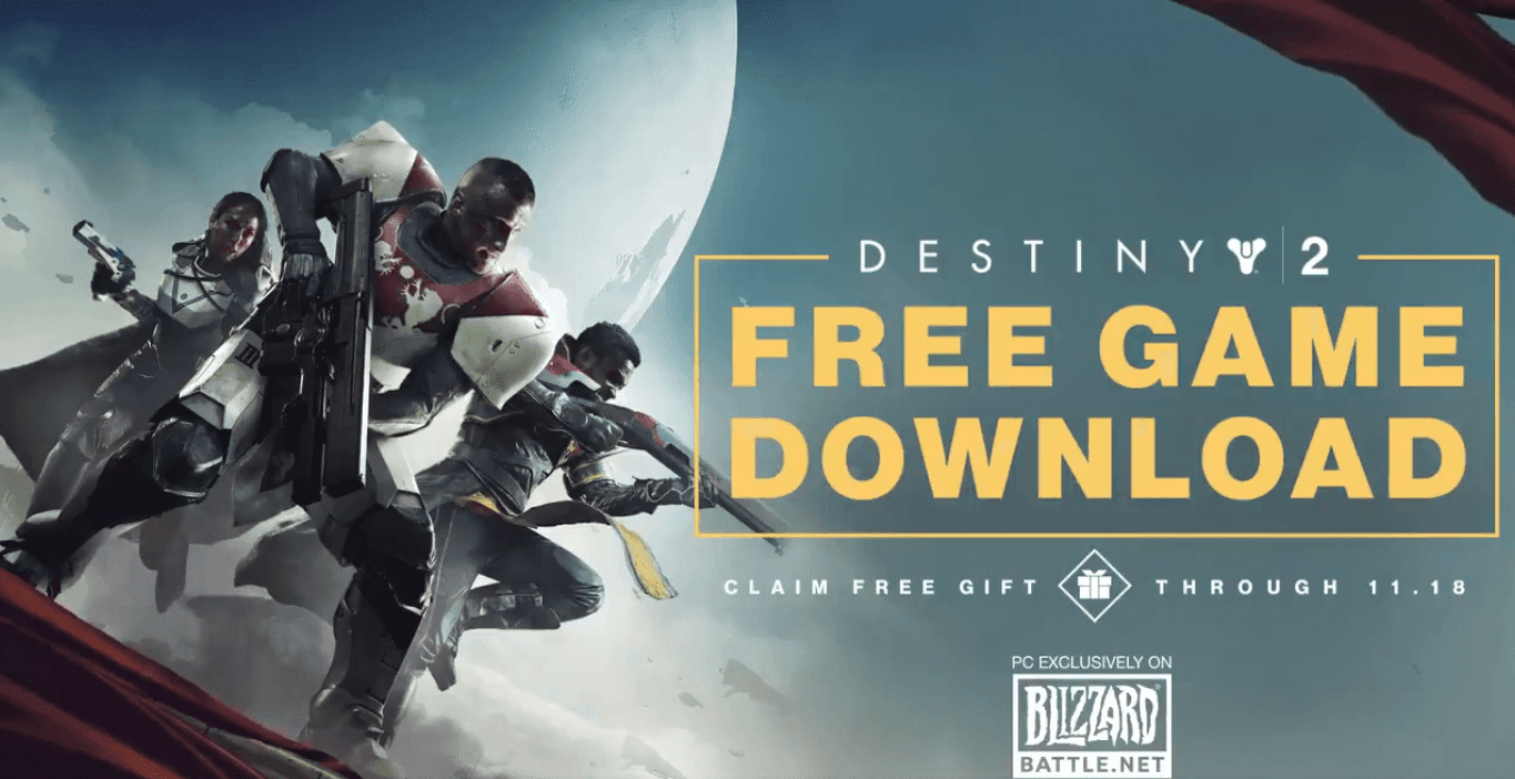 Destiny 2 Is Completely Free On PC Until November 18