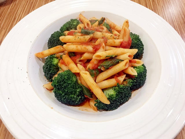 素 蕃茄青花菜義大利麵
