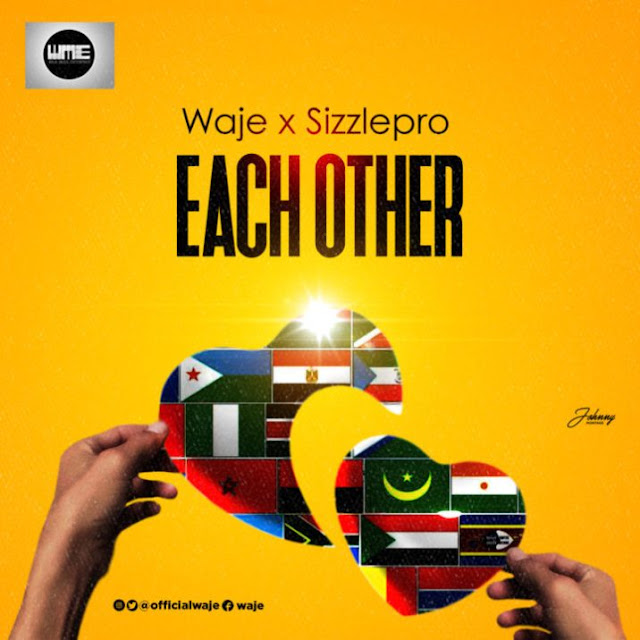 [Music] Waje – Each Other Ft. Sizzle Pro | @officialwaje