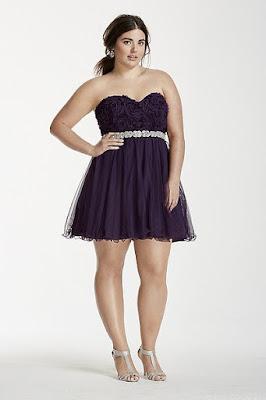 vestidos de fiesta cortos para señoras gorditas