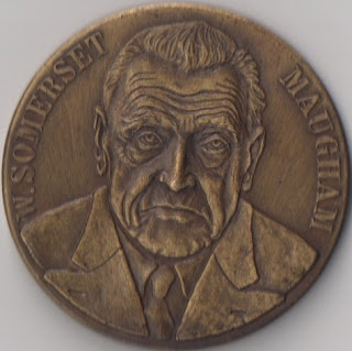 W. Somerset Maugham Medallion