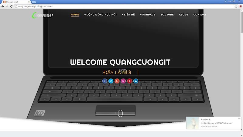 Chia sẻ Template Basil Độc Quyền Full Reponsive 2018 Chỉ có tại QuangCuongIT