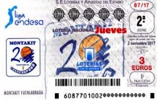 loteria jueves 2 noviembre