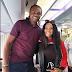 Iyabo Ojo Meets her 'biggest fan' Nwankwo Kanu