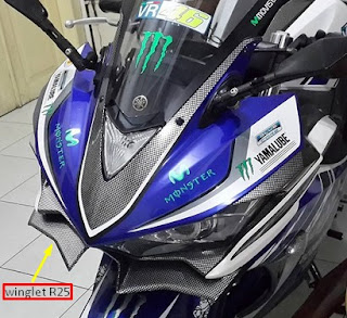 Winglet Yamaha R25
