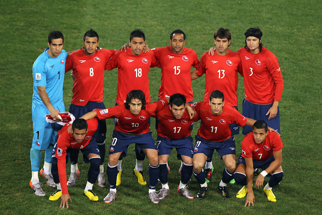 Formación de Chile ante España, Copa del Mundo Sudáfrica 2010, 25 de junio