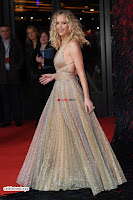 Jennifer Lawrence in a golde glittering gown at Red Sparrow Premiere in London ~  Exclusive Galleries 008.jpg