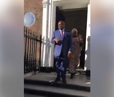 Gov. Nyesom Wike Caught On Tape Being Rude To Abandoned Rivers State Students In London [VIDEO]