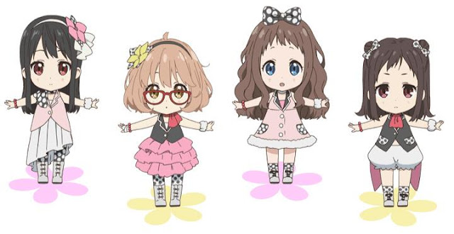 Kyoukai no Kanata: Idol Saiban! - Best Chibi Anime Shows list