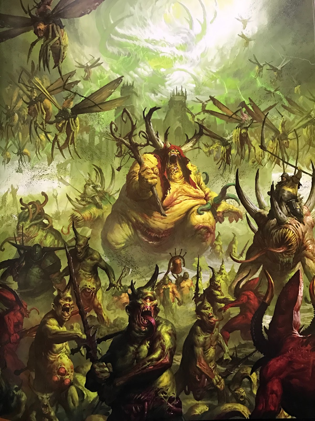 Age of Warhammer: Chaos Battletome: Maggotkin of Nurgle Review  Age of Warhamme...